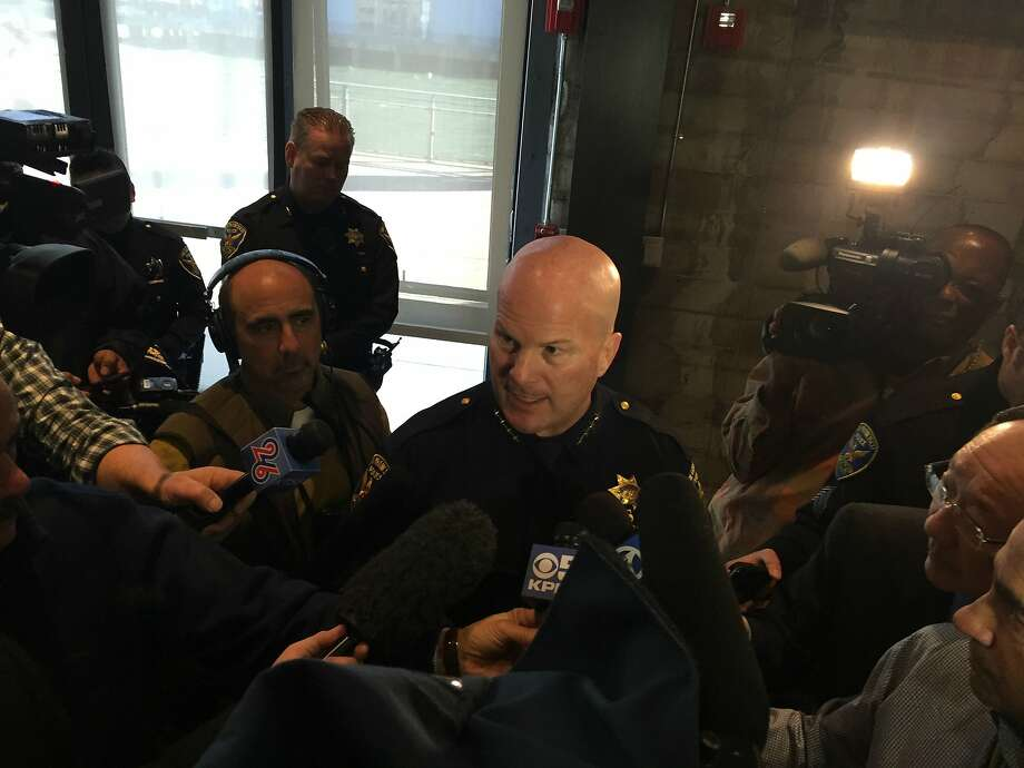 San Francisco police Chief Greg Suhr answers questions from reporters Wednesday on security plans for the weeks of festivities leading up to Super Bowl 50. Photo: Evan Sernoffsky