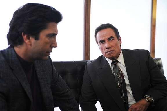 "David Schwimmer portrays Robert Kardashian and John Travolta plays Robert Shapiro in 'American Crime Story; The People v. O.J. Simpson,' on FX. January, 2016 THE PEOPLE v. O.J. SIMPSON: AMERICAN CRIME STORY ""From the Ashes of Tragedy"" Episode 101 (Airs Tuesday, February 2, 10:00 pm/ep) -- - Pictured: (l-r) David Schwimmer as Robert Kardashian, John Travolta as Robert Shapiro. CR: Ray Mickshaw/FX"