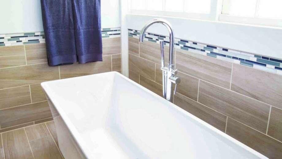 Living smart choosing bathroom tile that s trendy and - Angie s list bathroom remodeling ...