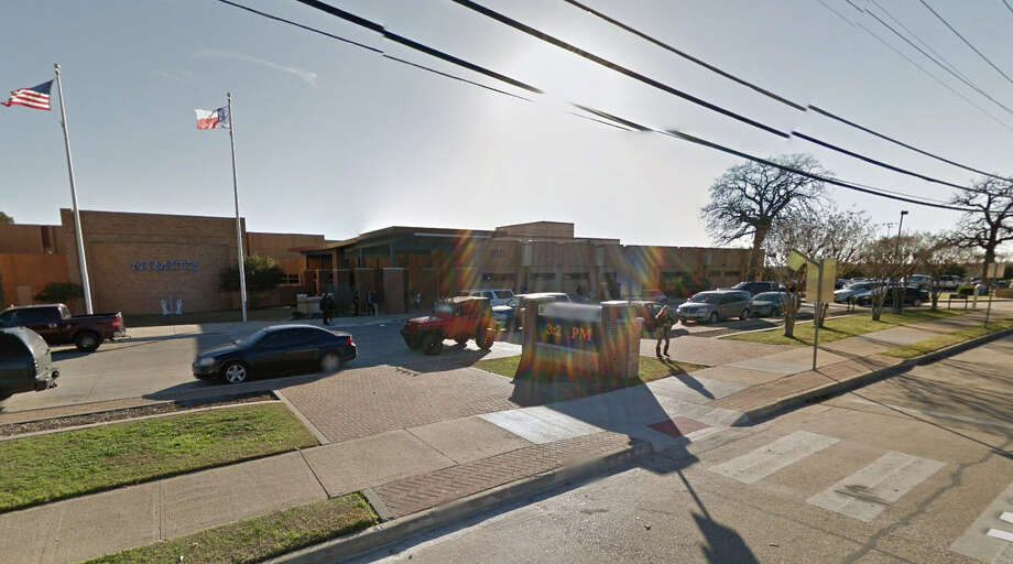 A teenage driver is in police custody after he was accused of running over two students from Nimitz High School getting off a school bus on Wednesday afternoon, according to reports.