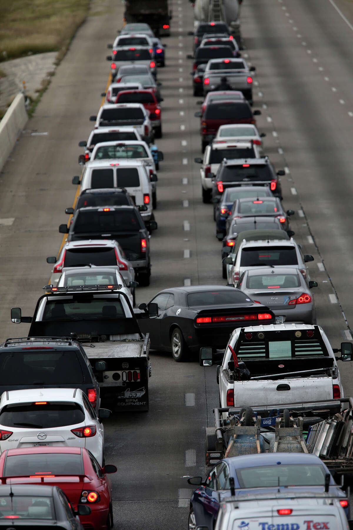 Traffic backs up Jan. 27 on Loop 410. As a part of the state's congestion relief initiative, San Antonio will get that money to accelerate expansions of parts of U.S. 281 and Loop 410 by more than a year.