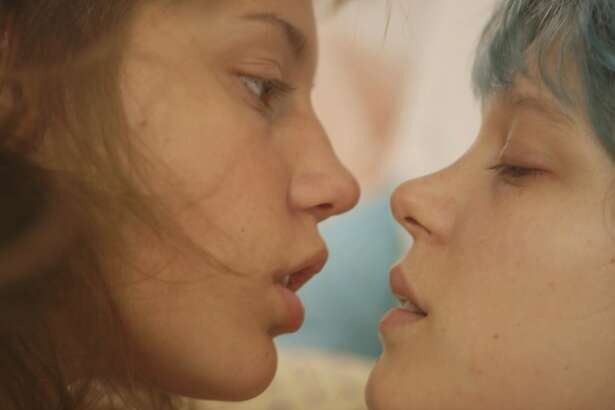 BLUE IS THE WARMEST COLOR -- the best film of 2013, not even nominated.