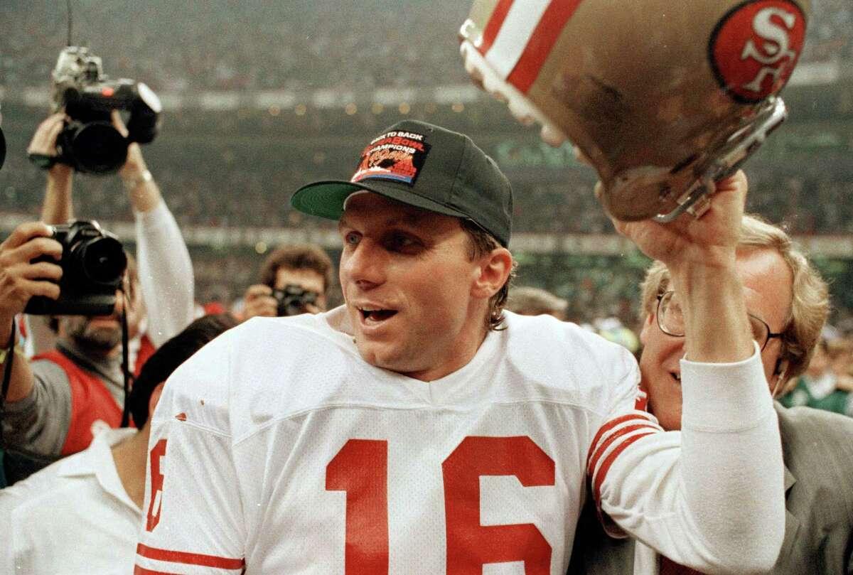 Quarterback: Joe Montana, San Francisco 49ers