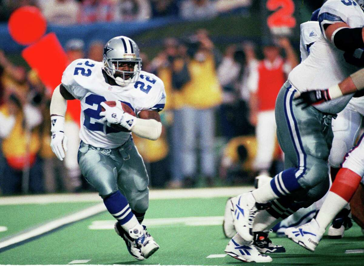 Running back: Emmitt Smith, Dallas Cowboys