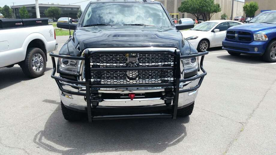 Grille guards, utilizing the factory bumper, like this Ranch Hand model, can help minimize damage to the truck and injuries to occupants. Photo: Ranch Hand Truckfitters