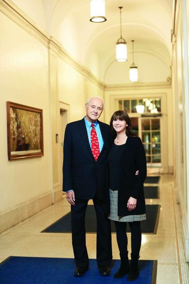 Photo: Leonard Tow And Emily Tow Jackson. Photo Courtesy Of Barnard College /Elizabeth Leitzell.