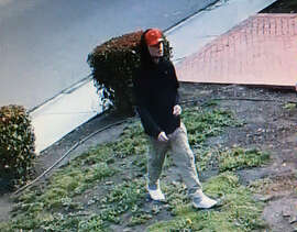 One of four suspected package thieves wanted in Mountain View.