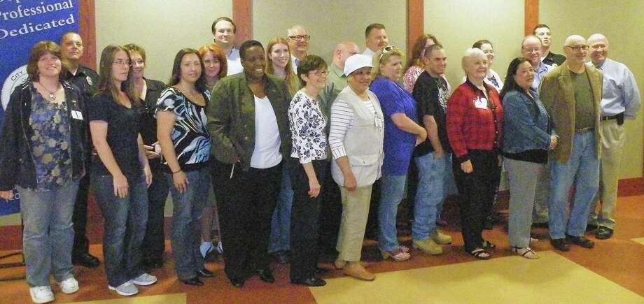 Danbury Citizens Police Academy graduates in 2012 Photo: / Contributed Photo