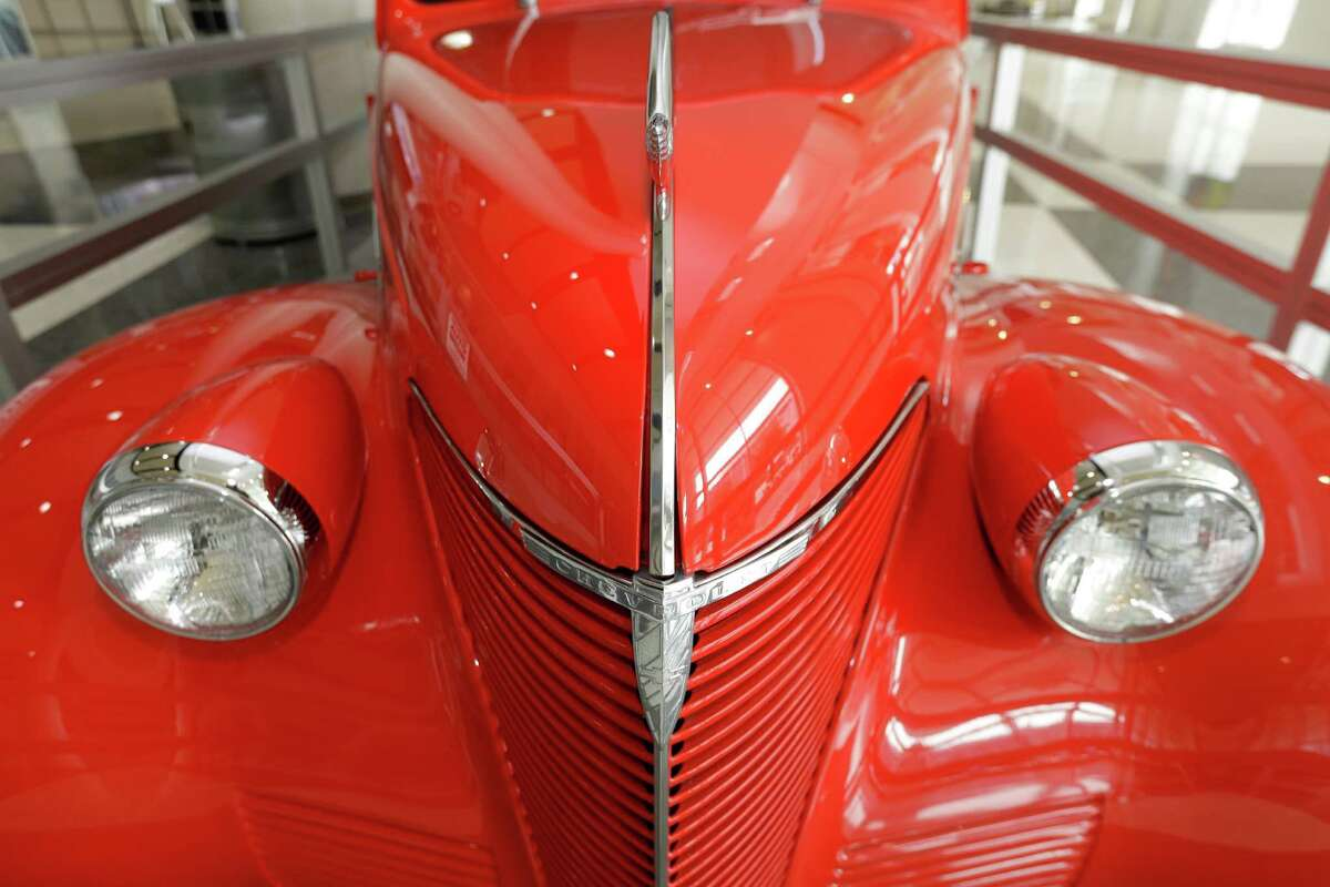 A 1939 Chevrolet is shown at the Houston Auto Show at NRG Center, Wednesday, Jan. 27, 2016, in Houston.