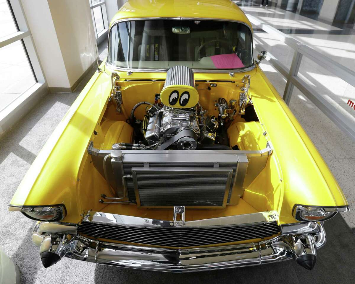 A 1957 Bel Air is shown at the Houston Auto Show at NRG Center, Wednesday, Jan. 27, 2016, in Houston.