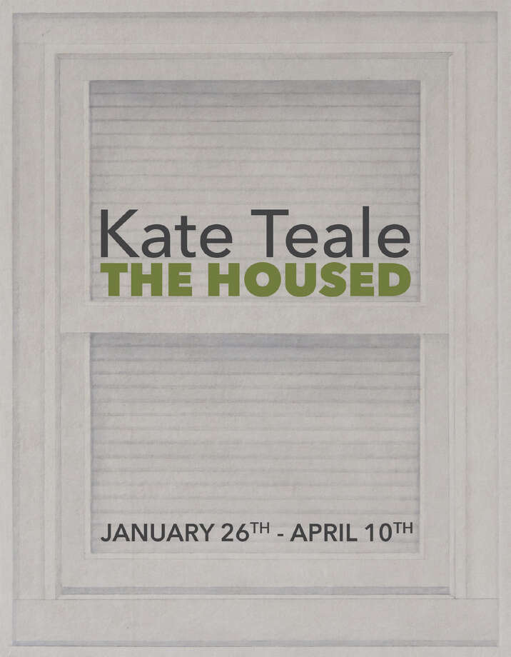 """Kate Teale exhibit """"The Housed""""  at the Opalka Gallery."""