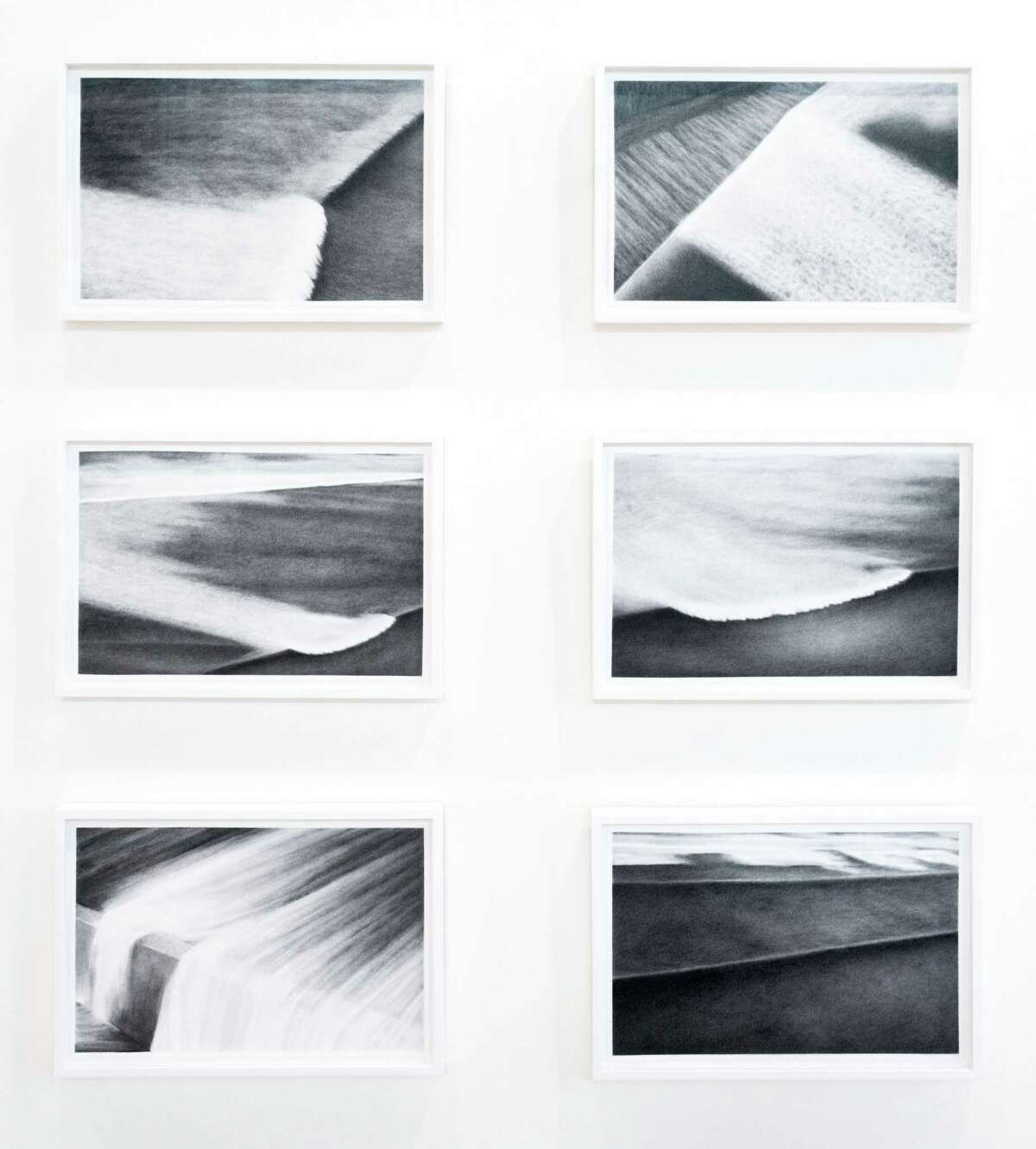 Kate Teale, six graphite drawings (2013) photo credit: William Jaeger