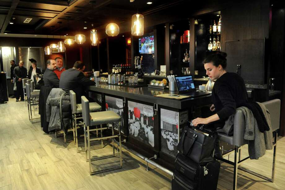 Bar area on Thursday, Jan. 21, 2016, at Wellington's in Albany, N.Y. (Cindy Schultz / Times Union) Photo: Cindy Schultz / 10035087A
