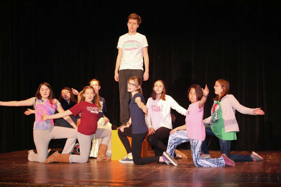 Members of First Congregational Church's youth groups performed You're A Good Man Charlie Brown for its 2015 musical. But for 2016, they are going to instead hold a talent show to raise money for its youth mission to West Virginia. Photo: / Contributed Photo