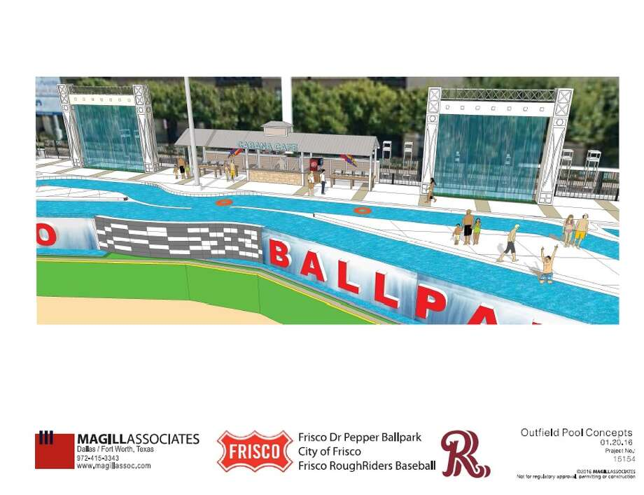 As Frisco works to revamp their minor league field, Dr. Pepper Ballpark, an idea to add a lazy river to the complex is being entertained by the RoughRiders, the Double-A affiliate of the Texas Rangers, and the city's Community Development Corporation board, according to the Dallas Morning News.