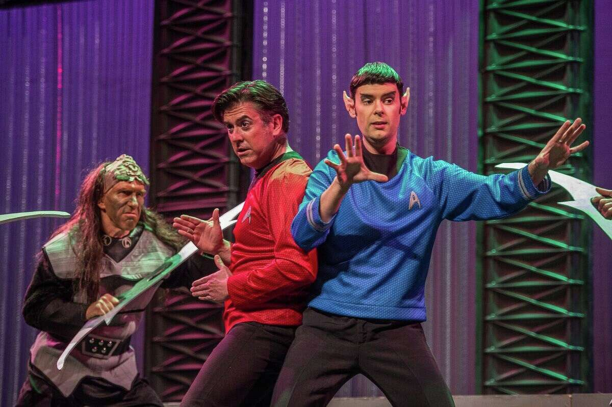 """Pacific Opera Project in Los Angeles staged a """"Star Trek""""-themed production of Mozart's """"Abduction from the Seraglio"""" in 2015. San Antonio's Opera Piccola is taking on the piece."""