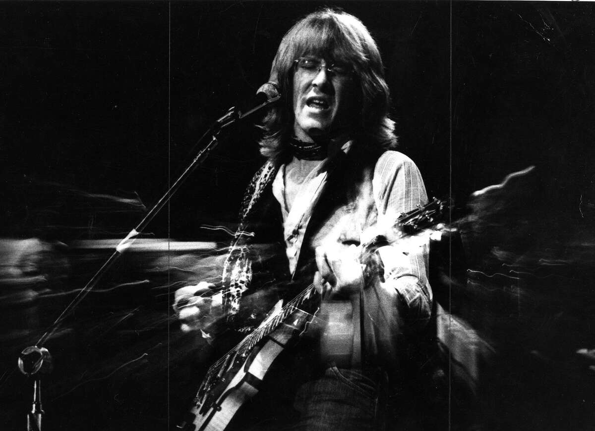 Paul Kantner of the Jefferson Airplane and Jefferson Starship in October 1980.