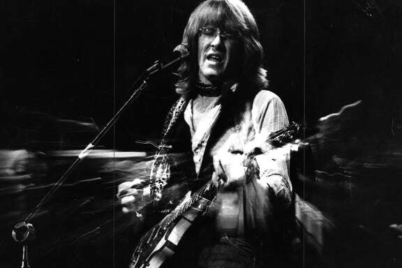Paul Kantner of the Jefferson Airplane and Jefferson Starship    Photo dated 10/08/1980