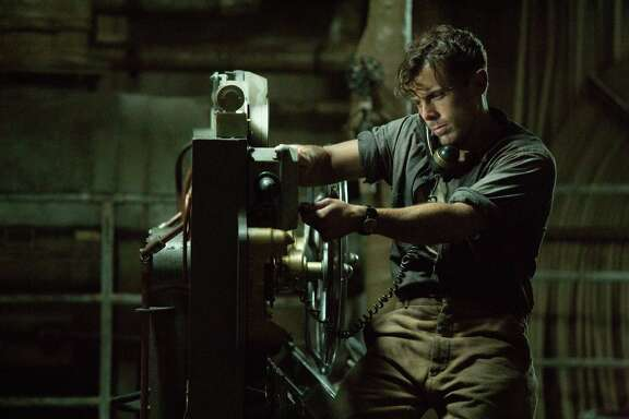 """In this image released by Disney shows Casey Affleck in a scene from, """"The Finest Hours,"""" a heroic action-thriller based on the true story of the most daring rescue in the history of the Coast Guard. (Claire Folger/Disney via AP)"""