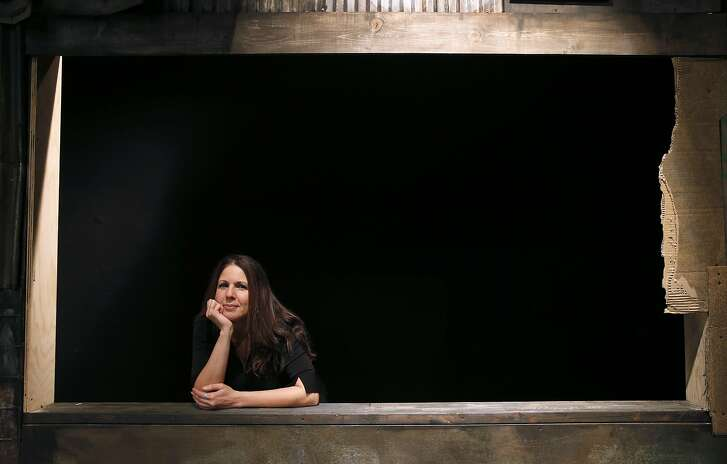 Artistic Director Loretta Greco is seen on the set of Dogeaters at the Magic Theatre in San Francisco, Calif. on Thursday, Jan. 28, 2016.