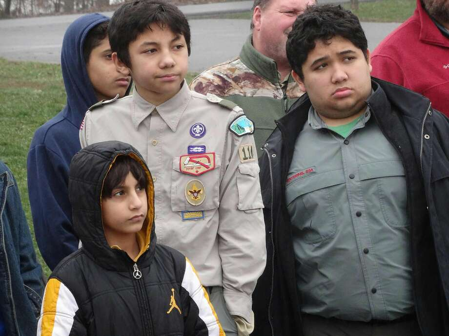 A troop of Muslim Boy Scouts visits the Gettysburg (Pa.) Museum. Calls to bar entry to the U.S. based on a person's religion raise constitutional issues. Photo: Leo Mouren, AFP / Getty Images