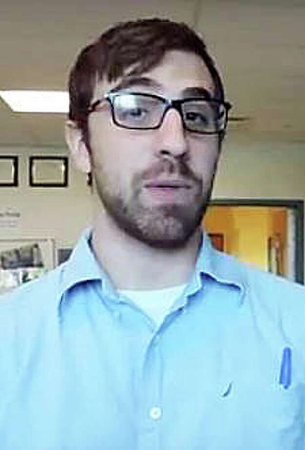 Cody Thomas appeared in a Staples High School video promoting a public-service message to refrain from texting while driving. Photo: Contributed Photo / Contributed Photo / Westport News