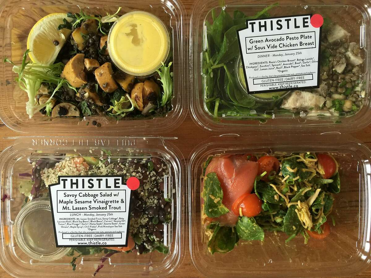Thistle delivers prepared lunches and dinners for home or office