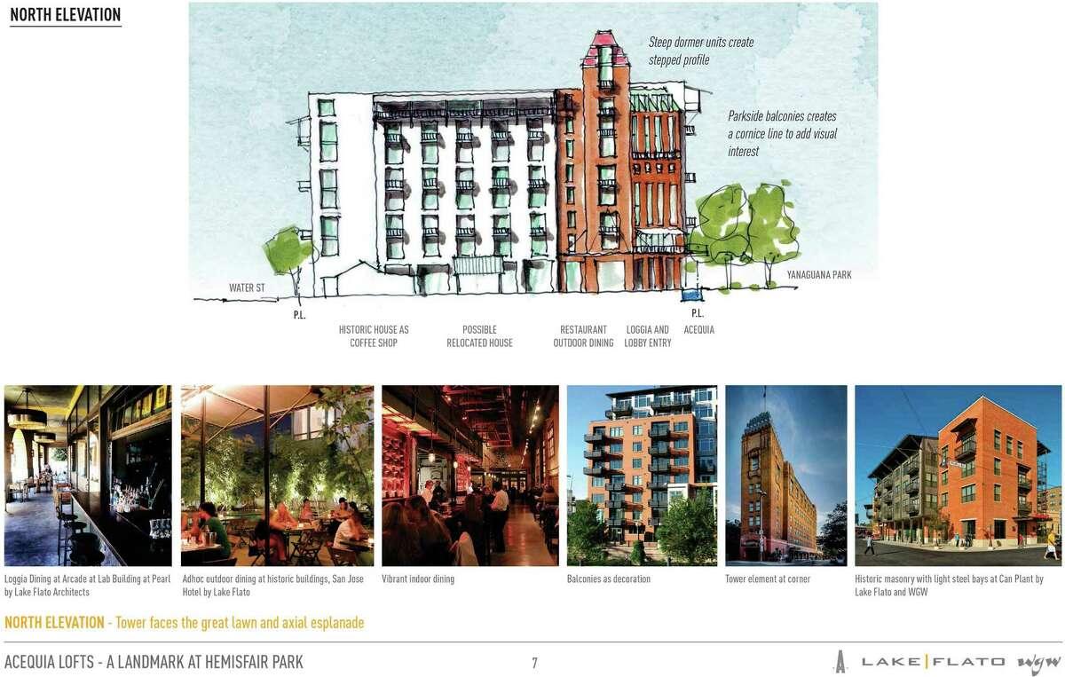 Hemisfair rendering, Hemisfair renderings.