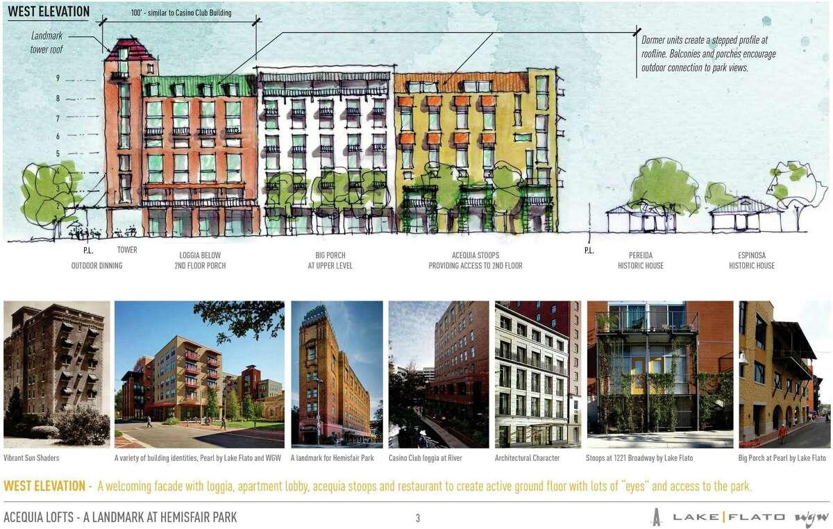 Hemisfair renderings