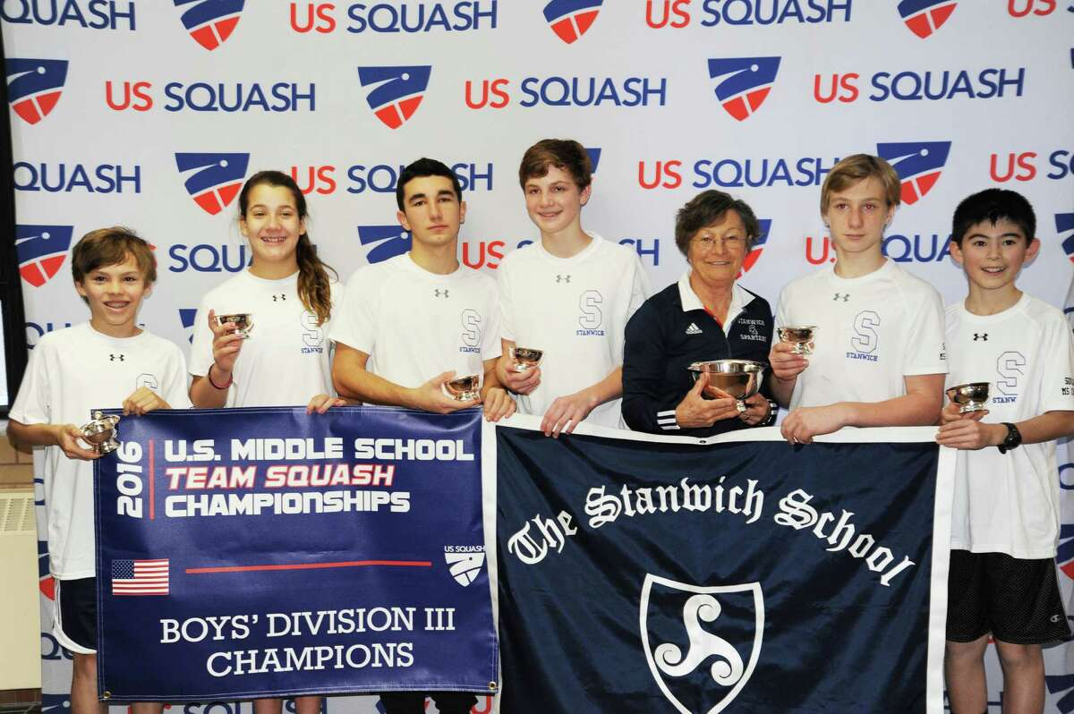 The Stanwich School won the U.S. Squash Middle School Squash title at Yale University this past weekend. Stanwich captured the championship in the Boys Division III bracket.