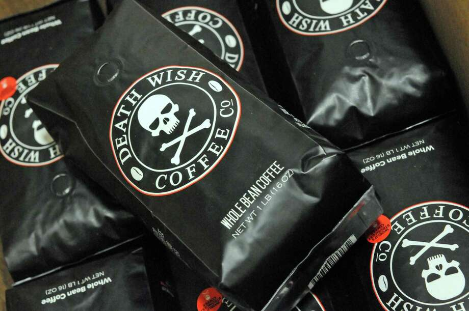 Coffee ready for shipping at Death Wish Coffee on Thursday Jan. 28, 2016 in Round Lake, N.Y. (Michael P. Farrell/Times Union) Photo: Michael P. Farrell / 10035203A