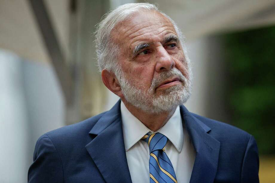 Activist investor Carl Icahn in May 2015 in New York City. Photo: Victor J. Blue / Bloomberg / © 2015 Bloomberg Finance LP
