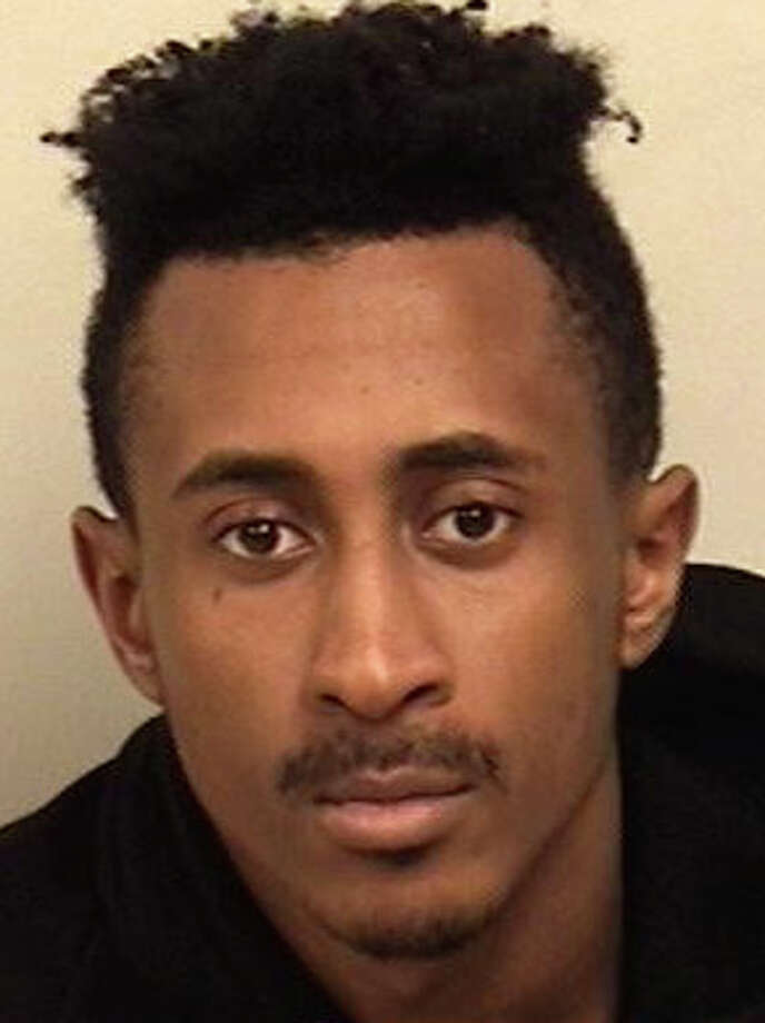 Andre Fowler, 21, of Norwalk, has been charged with shoplifting at the local Jack Wills store. Photo: Westport Police Department / Westport Police Department / Westport News