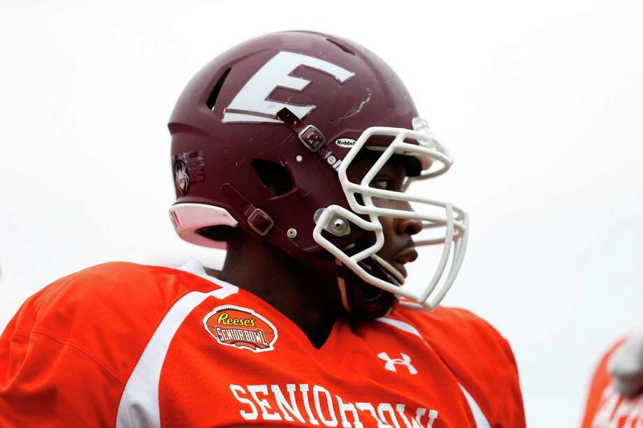 Failed drug tests and a partying problem got Noah Spence booted from Ohio State. He landed at Eastern Kentucky and insists the drug use is behind him entering the NFL draft. Photo: Brynn Anderson, STF / AP