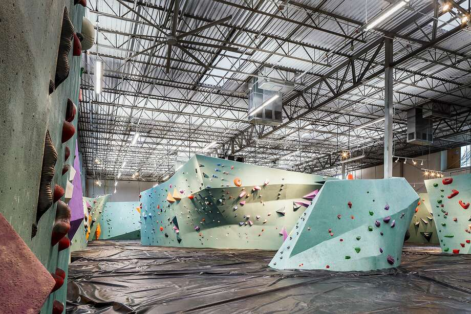 "After almost two years of construction, the facility ""believed to be the largest bouldering gym in the world has opened its doors to the public,"" the site said. Photo: Andrea Calo"