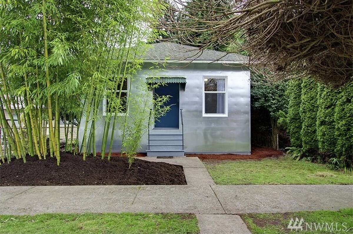 The first home,839 S. Donovan St., is listed for $314,990. The three bedroom, one bathroom home is covered ingalvanized siding for a unique look. There will be a showing for this home on Saturday, Jan. 30 and Sunday, Jan. 31 from 2 - 4 p.m. You can see the full listing here.