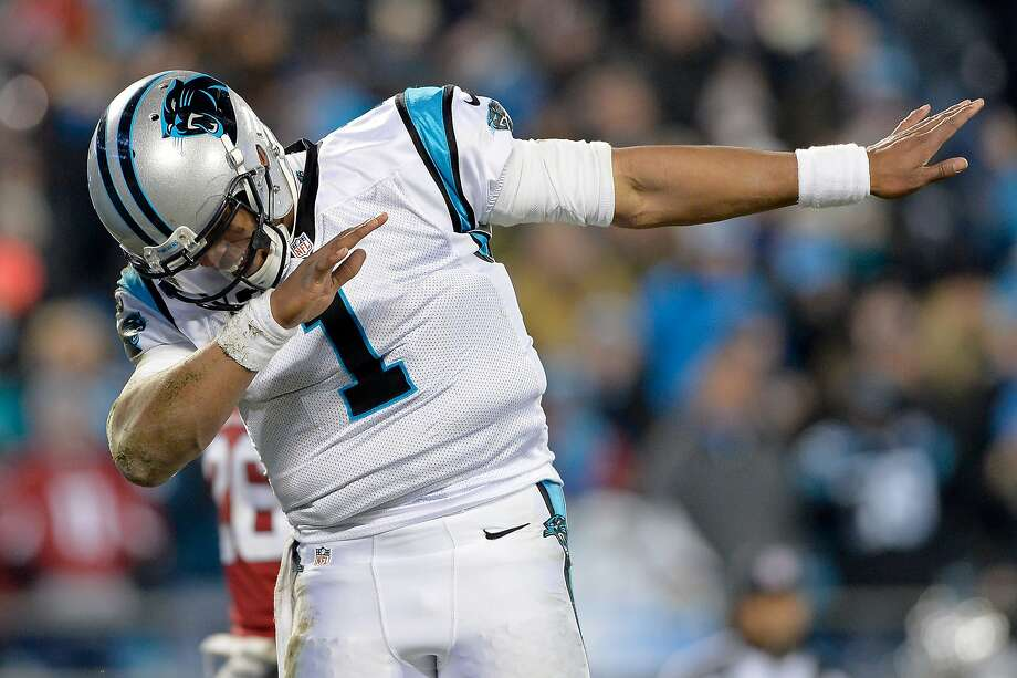 Cam Newton, take a bow — you're one of the most entertaining and charismatic figures in sports. Don't ever change. Photo: Grant Halverson, Getty Images