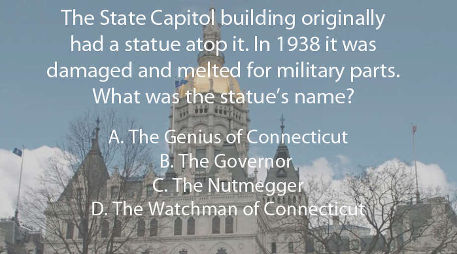 Click to see the answer in yellow. Photo: File Photo, . / Connecticut Post File Photo