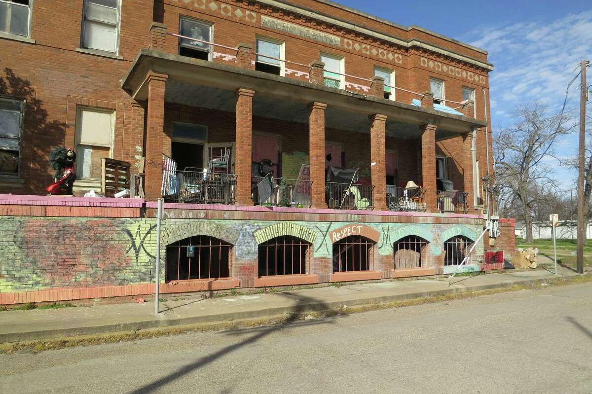 """""""Respect"""" may be hard to come by for a dilapidated old hospital in downtown Marlin."""