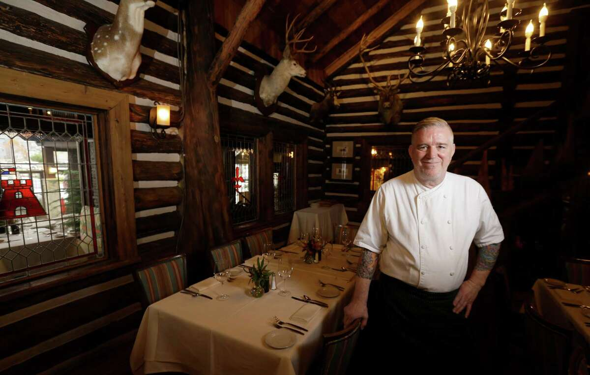 Mark Schmidt is the executive chef at the Rainbow Lodge.