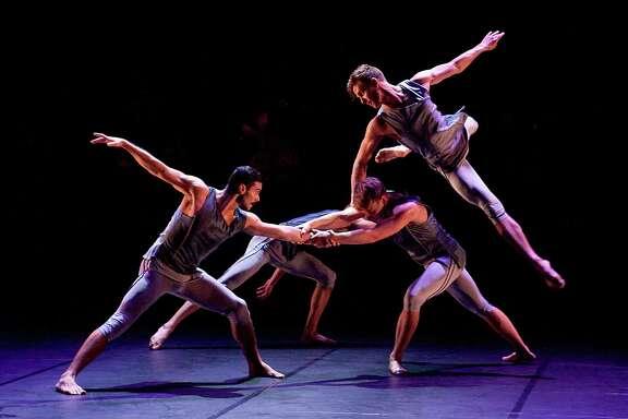 "The all-male British company BalletBoyz will perform Christoper Wheeldon's ""Mesmerics."""