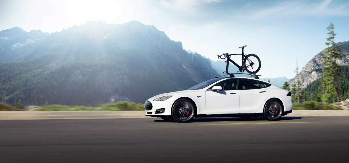 The Tesla Model S comes with a self-driving option.
