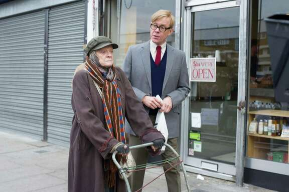 """Maggie Smith and Alex Jennings star in """"The Lady in the Van."""""""