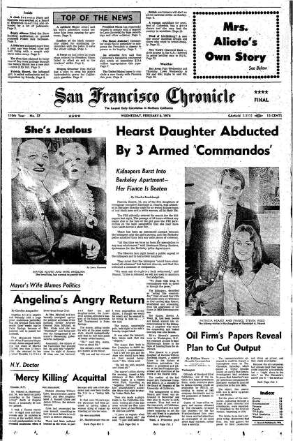 Chronicle Covers: When Patty Hearst's kidnapping gripped