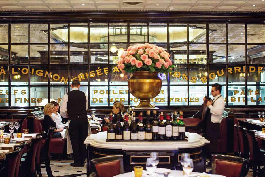 A view of the interior of Bardot, Michael Mina's brasserie in the Aria casino in Las Vegas. Photo: Kendrick Brinson / Special To The Chronicle / ONLINE_YES