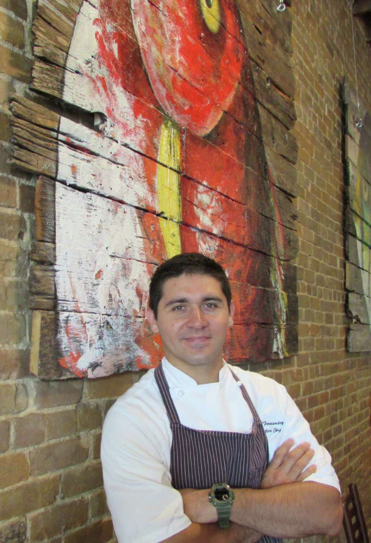 Diego Fernandez, the son of Azuca owner Rene Fernandez, is co-owner of Starfish, and the soon-to-open Hearsay.