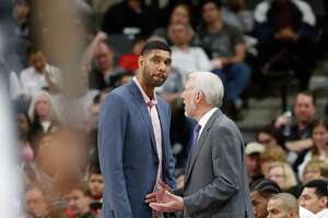 Duncan out for tonight's game against Heat - Photo