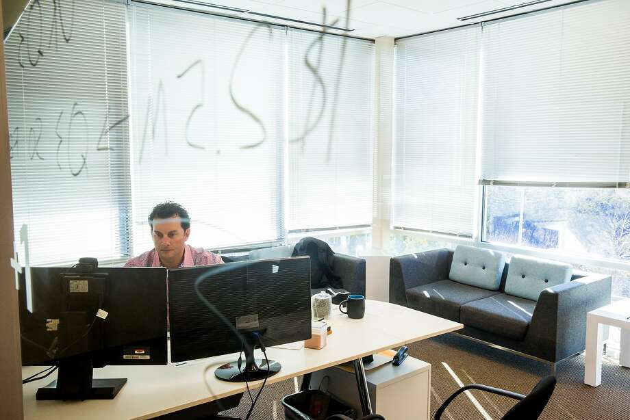LiveOps CEO Vasili Triant recently moved his company from Redwood City to Austin, Texas, where the cost of living is much less. Photo: Julia Robinson, Special To The Chronicle