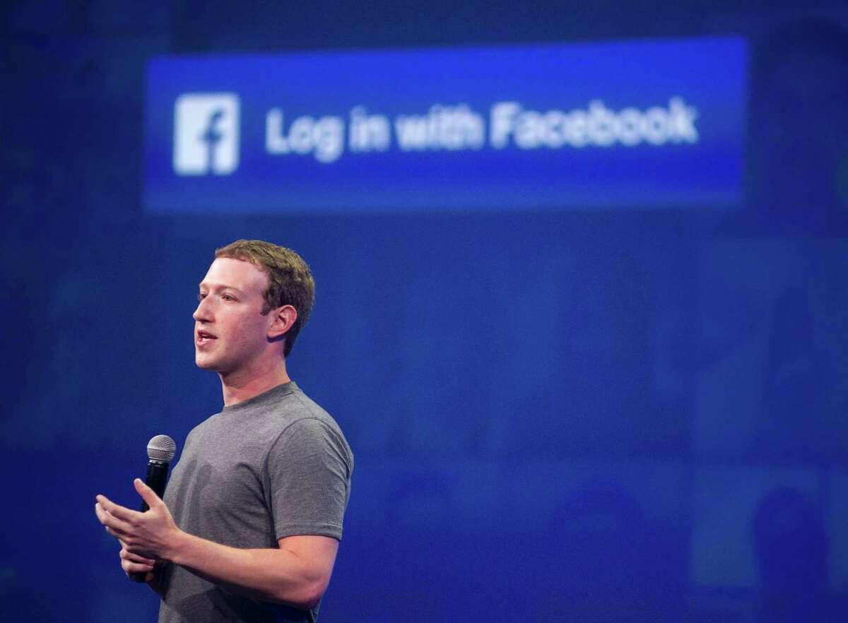 Mark Zuckerberg speaks at last year's F8 summit in San Francisco.
