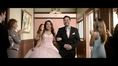 """H-E-B's Super Bowl commercial shows scenes from across the state. H-E-B executive Cory Basso says this year there's """"a little more pulling at the heartstrings."""""""